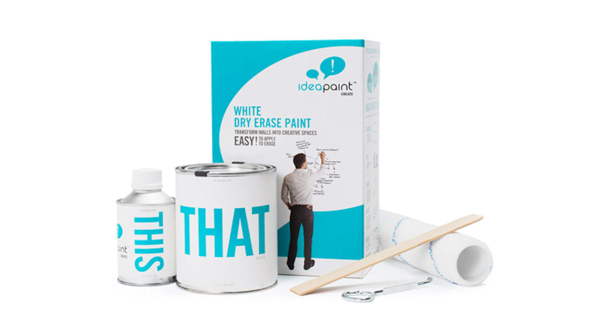 FREE Sample of IdeaPaint Dry E...