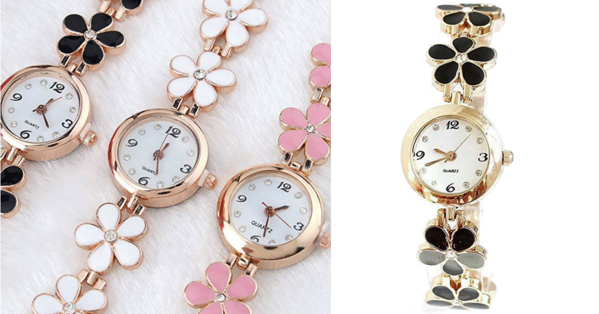 Flower Band Women Watch ONLY $...