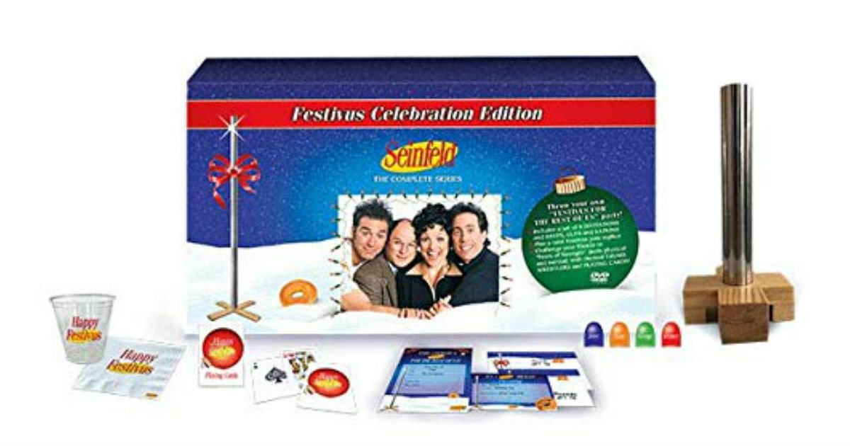 Seinfeld Complete Series on DVD ONLY $59.99 (Reg. $120)