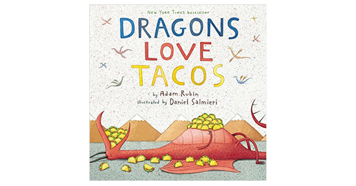 Save 50% on Dragons Love Tacos Hardcover ONLY $8.49 (Reg. $17)