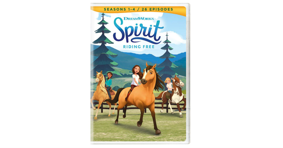Spirit Seasons 1-4 ONLY $9.99 on Amazon (Reg. $19.98)