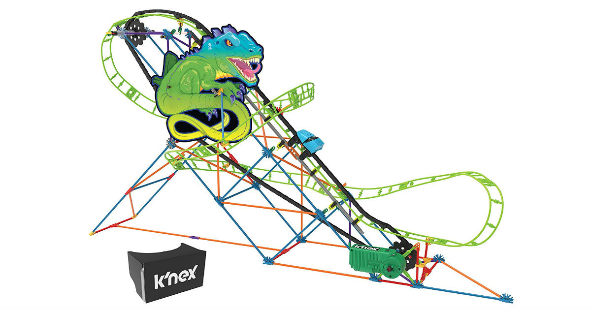 K'NEX Twisted Lizard Coaster ONLY $27.50 (Reg. $55)