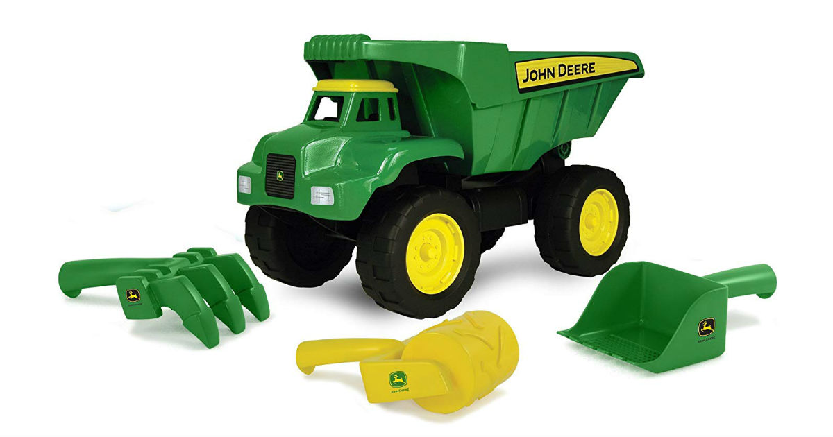 John Deer Big Scoop Dump Truck ONLY $10.46 (Reg. $25)