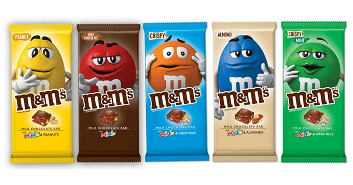 M&M's Chocolate Bars ONLY $1.18 at Walmart (Reg. $168)
