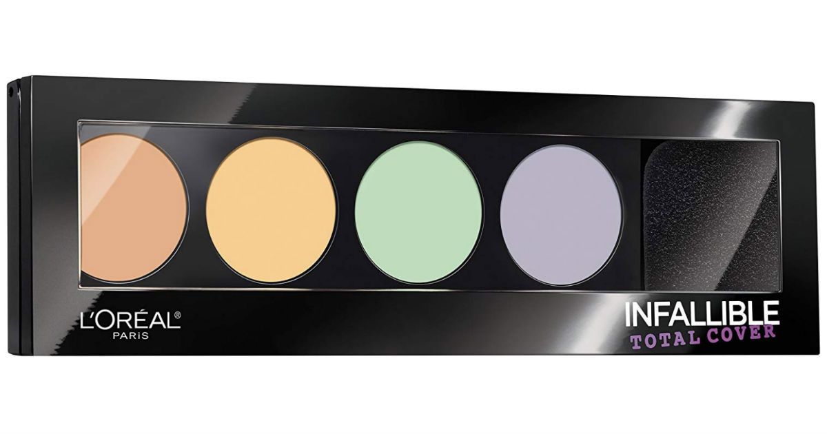 L'Oreal Paris Infallible Palette ONLY $6.99 at Target (reg $14)