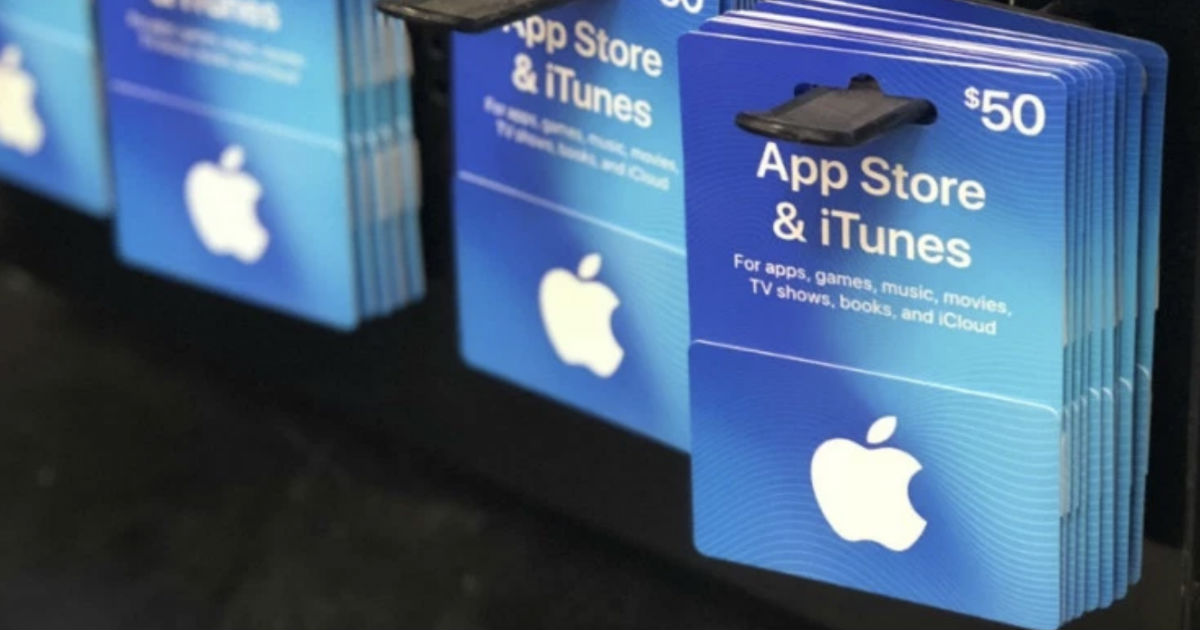 $50 iTunes eGift Card ONLY $40...