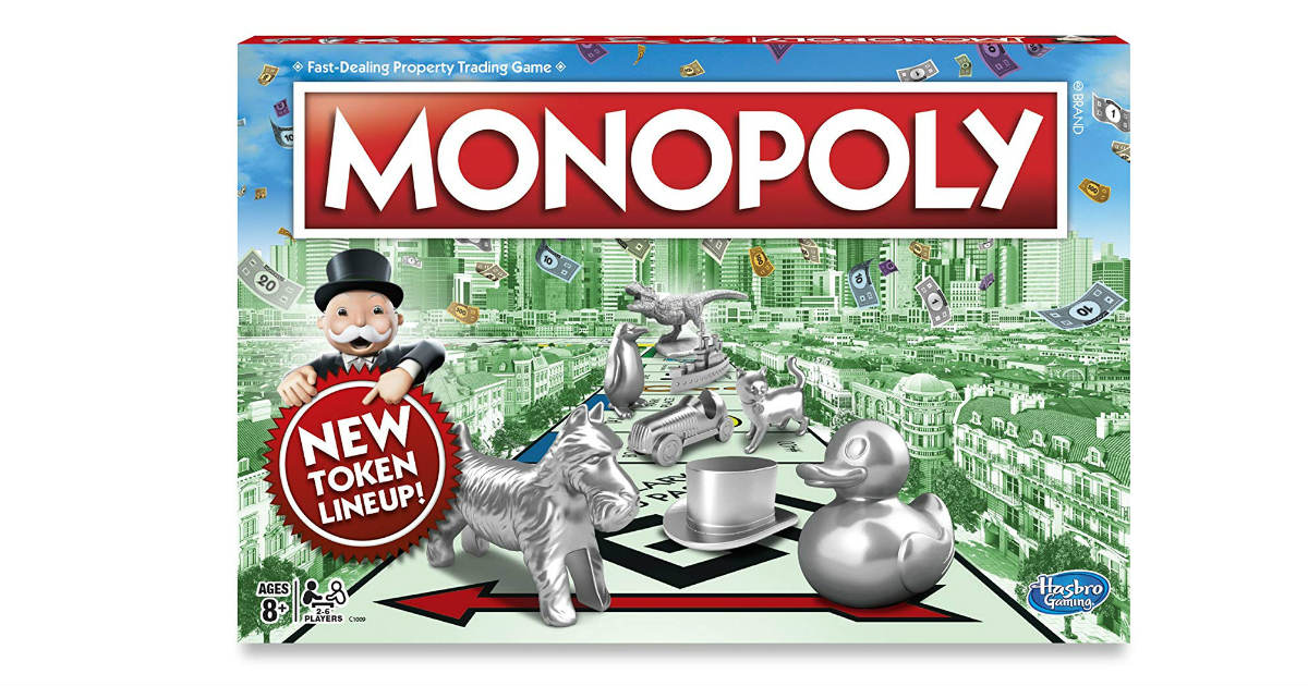 Monopoly Classic Game ONLY $7.88 on Amazon (Reg. $20)
