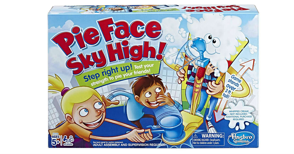 Pie Face Sky High Game ONLY $7.74 on Amazon (Reg. $20)