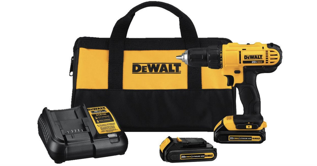 Dewalt Compact Drill Driver Kit ONLY $99 Shipped (Reg $169)