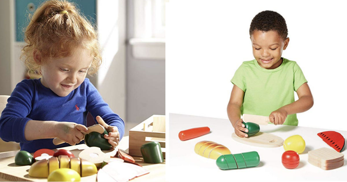 Melissa & Doug Cutting Food Play Set ONLY $11.99 (Reg $19.59)