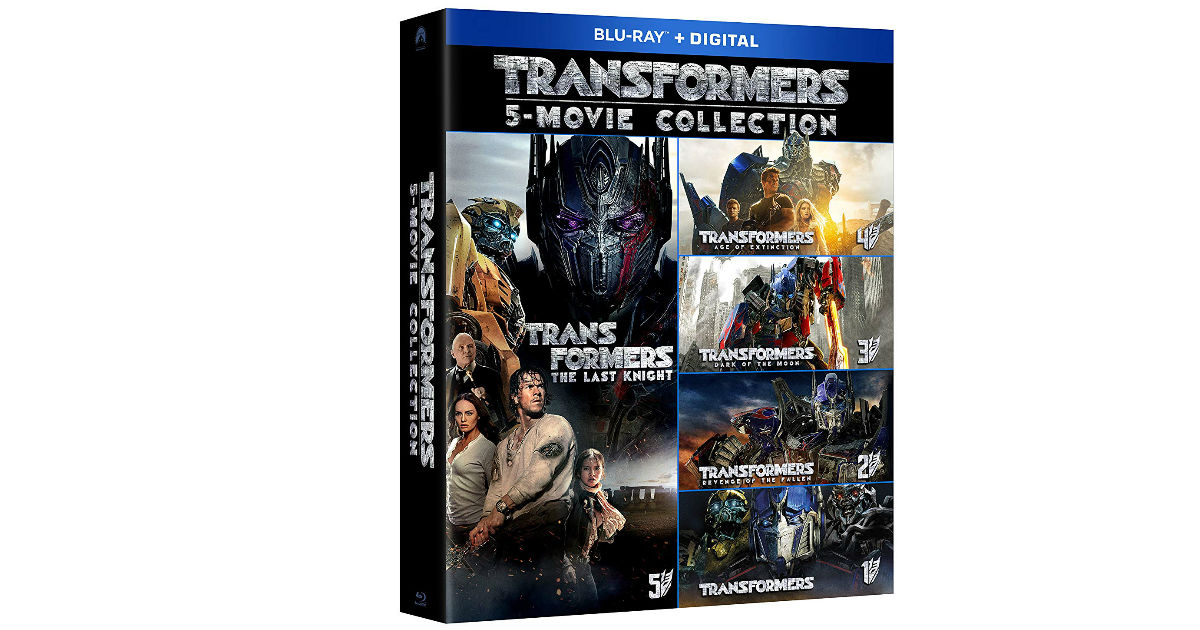 Transformers 5 Movie Collection ONLY $30.49 on Amazon