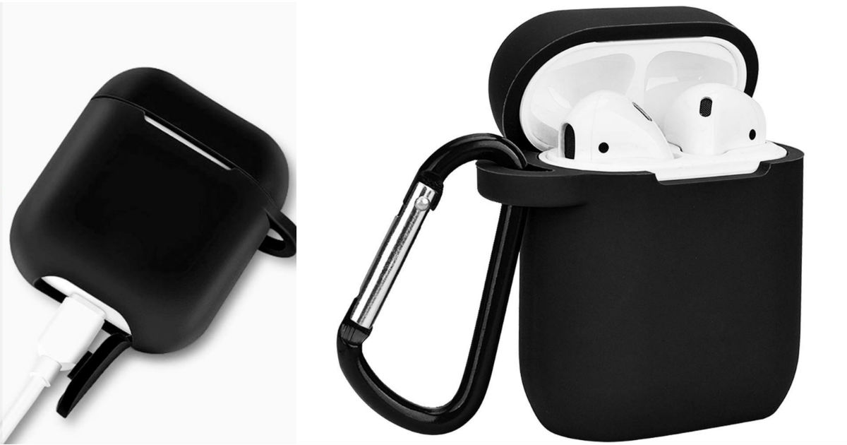Silicone Skin Cover Case for Apple Airpods ONLY $8.99 Shipped