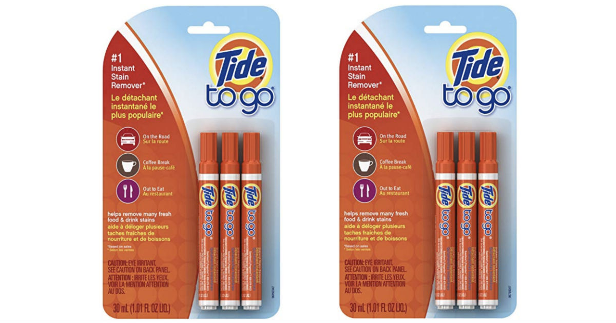 Tide to Go Instant Stain Remover Liquid Pens ONLY $4.44 Shipped
