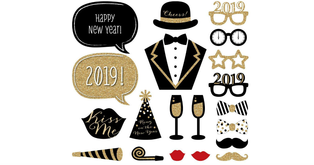 New Years Eve Party Prop Kit ONLY $14.99 (Reg. $25)