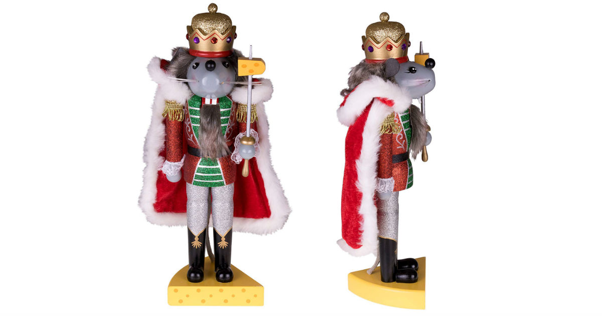 Mouse King Nutcracker ONLY $19.99 on Amazon (Reg. $90)