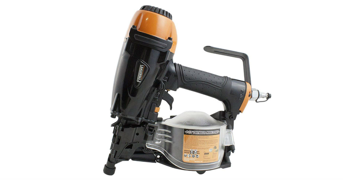 Freeman Fencing Nailer ONLY $140 on Amazon (Reg. $299)