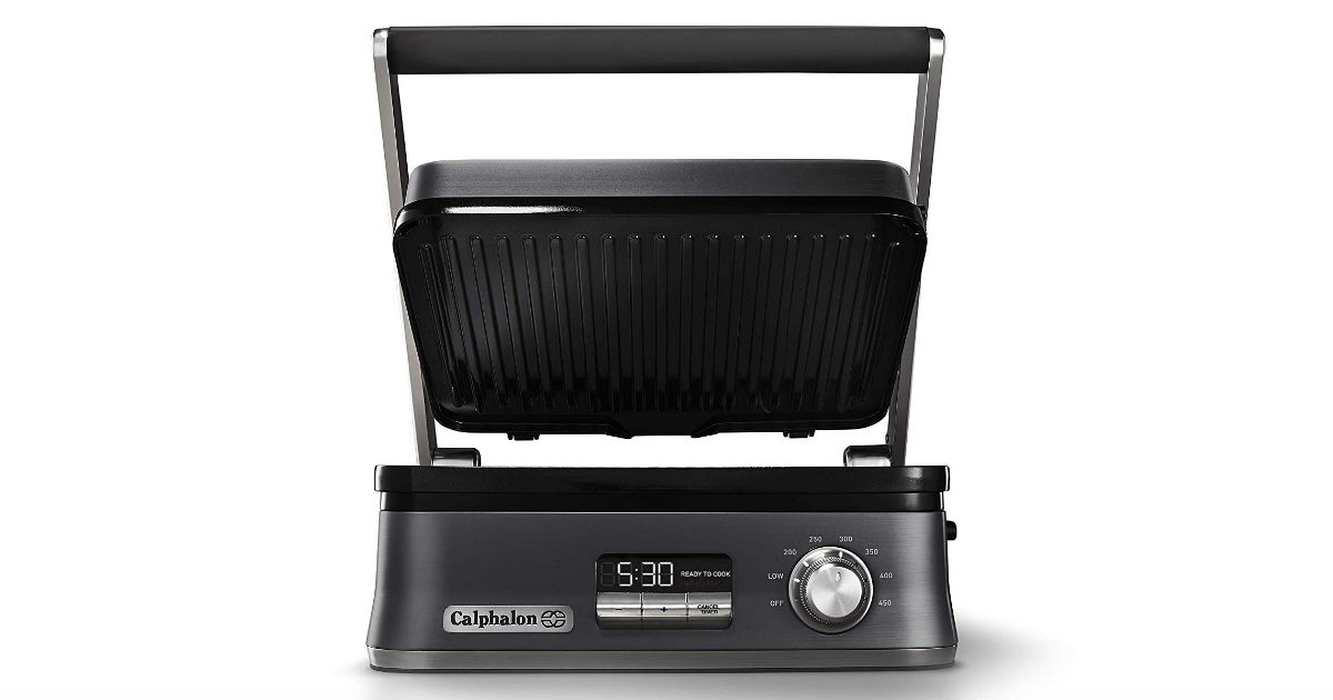 Calphalon Indoor Electric Grill ONLY $99.99 (Reg. $200)