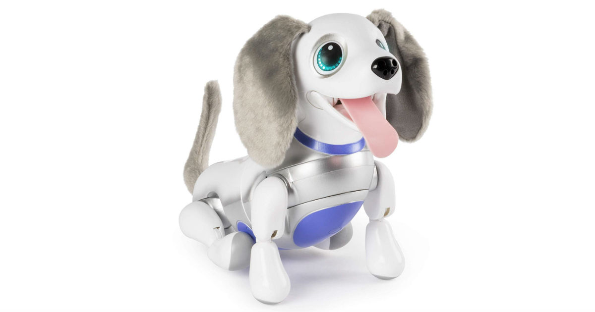 Zoomer Playful Pup ONLY $24.99 on Amazon (Reg. $100)