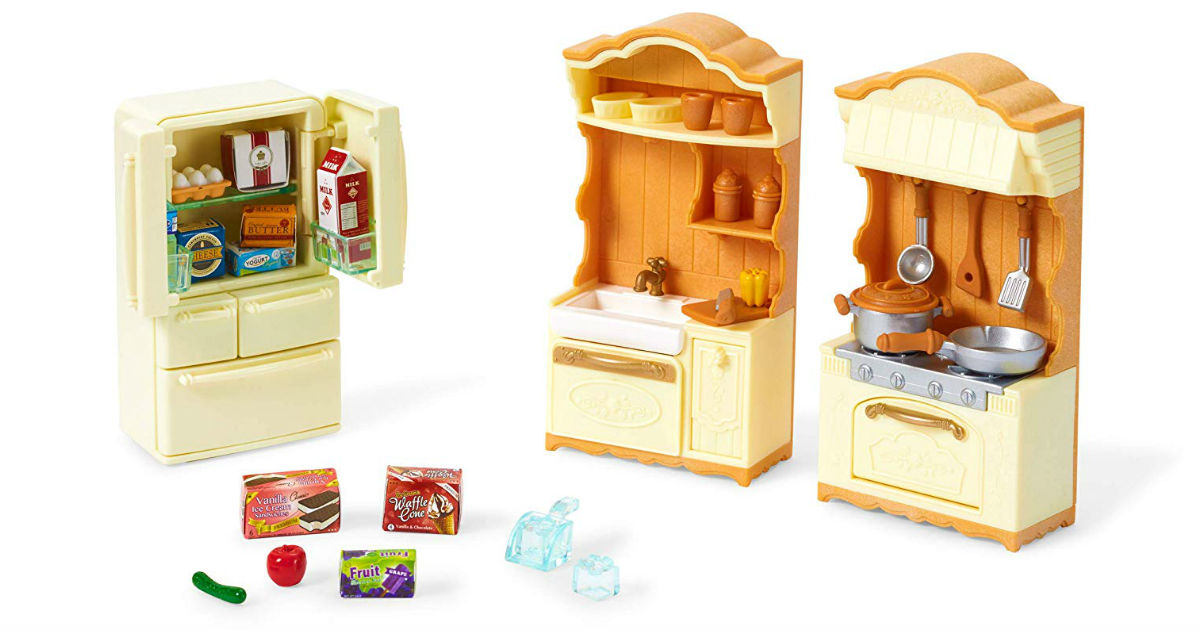 Calico Critter Kitchen Play Set ONLY $5.51 (Reg. $19.95)