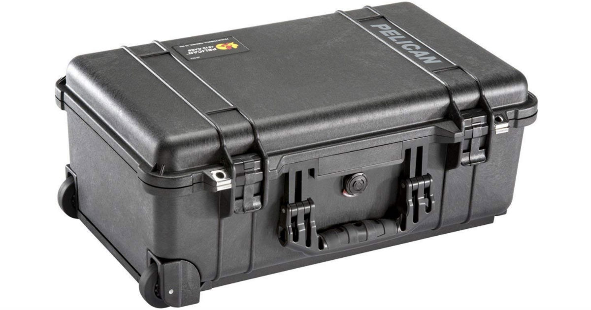 Pelican Case with Foam ONLY $119.96 (Reg $272) Shipped