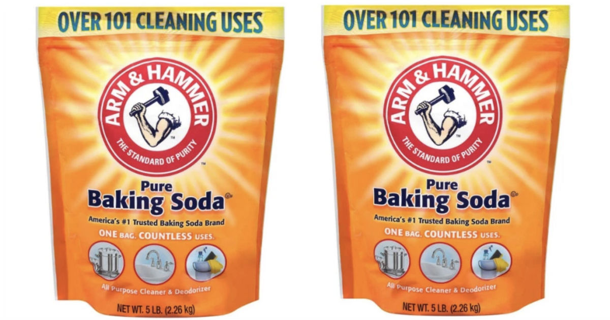 Arm & Hammer Baking Soda 5-Pound Bag ONLY $3.41
