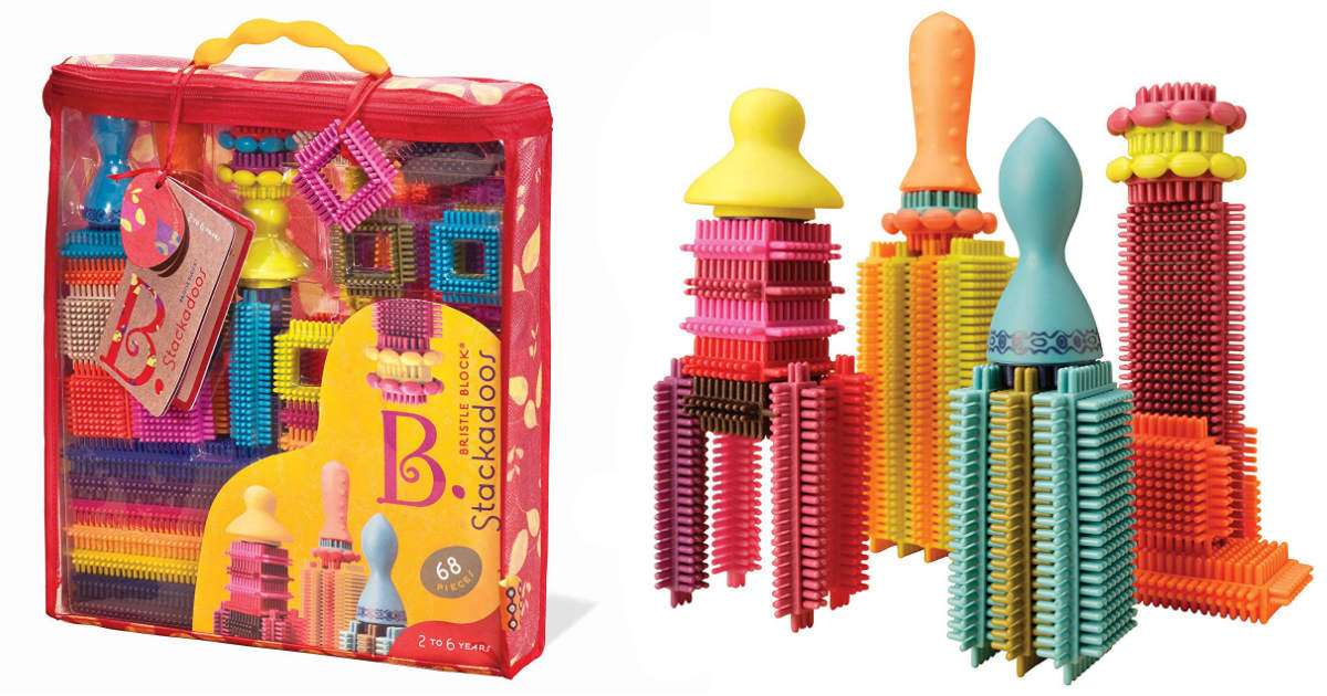 Bristle Blocks Stackadoos ONLY $10.98 on Amazon (Reg. $19.95)