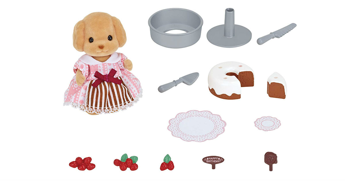 Calico Critters Cake Decorating Set ONLY $9.68 (Reg. $17)