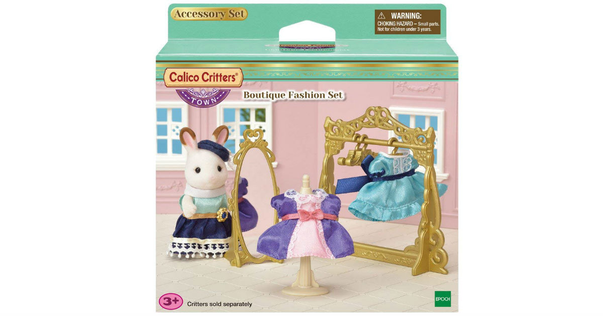 Calico Critters Town Boutique Fashion Set ONLY $8.30 (Reg. $18)