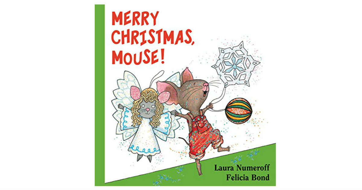 Merry Christmas, Mouse Board Book ONLY $3.49 (Reg. $8.00)