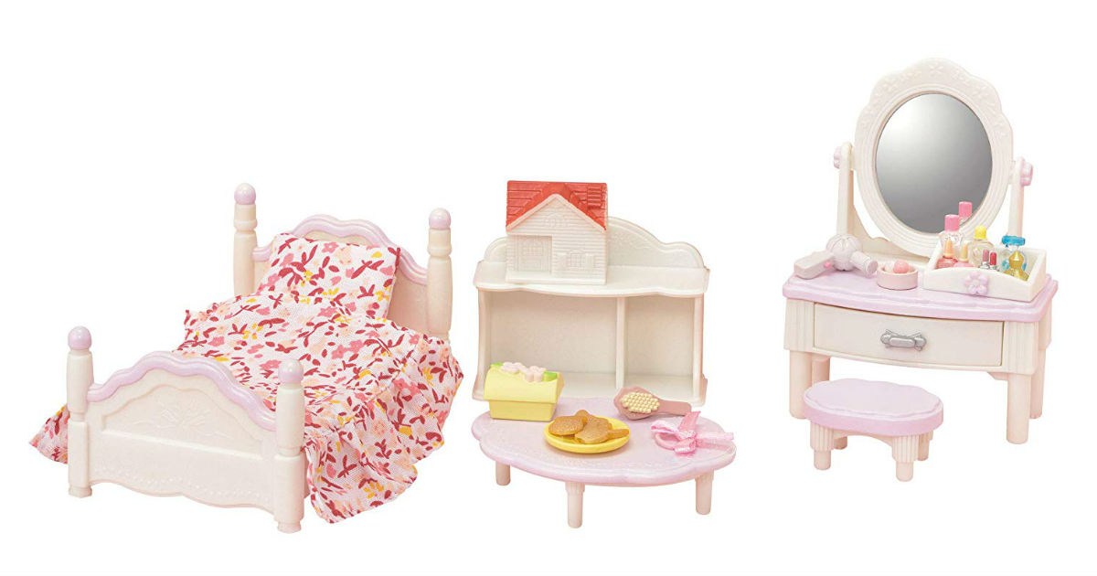 Calico Critters Bedroom Set ONLY $7.70 on Amazon (Reg. $20)