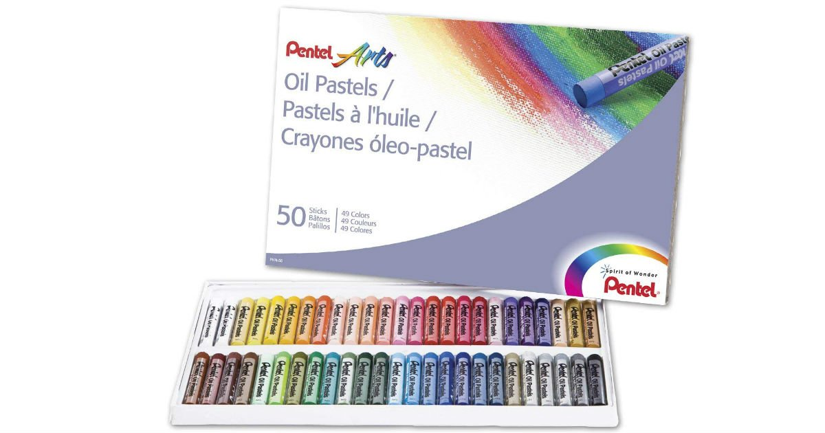 Pentel Arts Oil Pastels ONLY $5 27 on Amazon (Reg  $11) - Daily