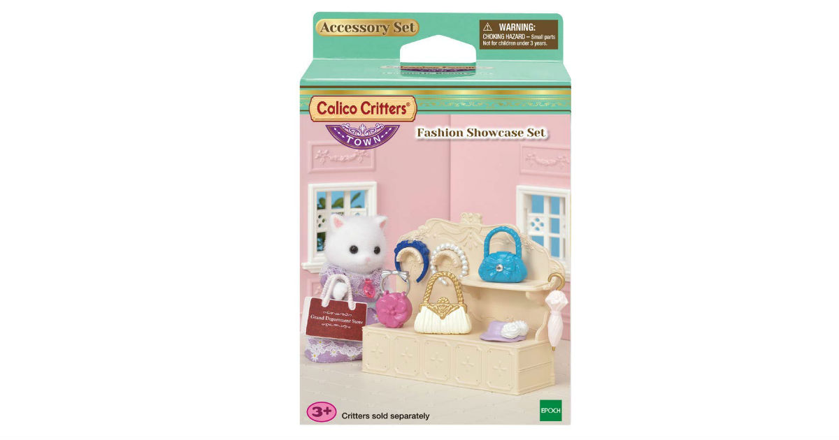 Calico Critters Town Fashion Showcase Set ONLY $4.58 (Reg. $10)