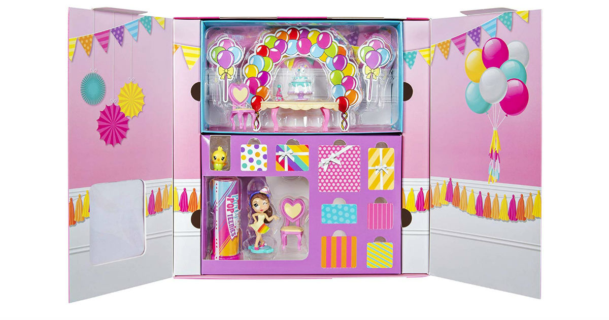 Party Popteenis Unicorn Playset ONLY $3.99 on Amazon (Reg. $15)