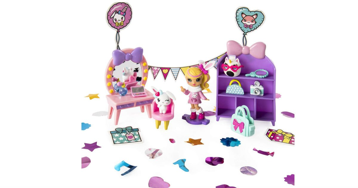 Party Popteenies Cutie Animal Playset ONLY $5.02 (Reg. $15)