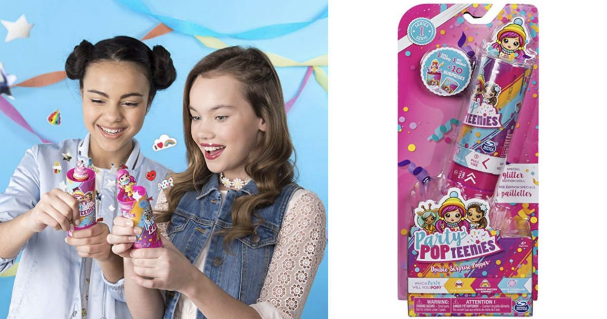 Party Popteenies Double Surprise Popper ONLY $1.99 Shipped