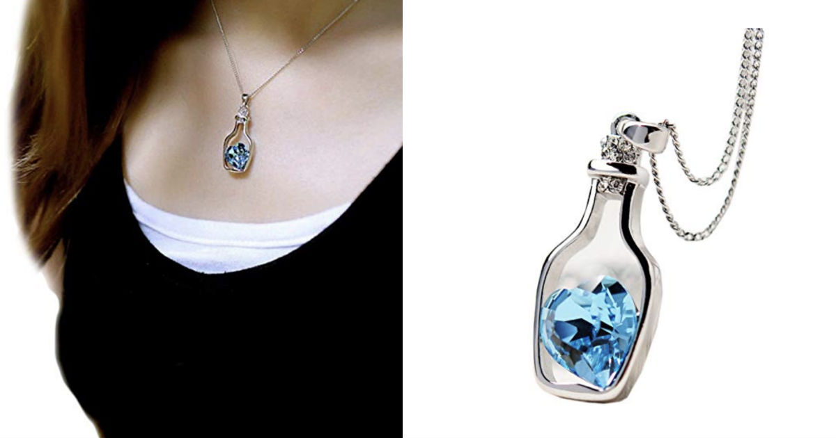 Love Drift Bottles Pendant Nec...