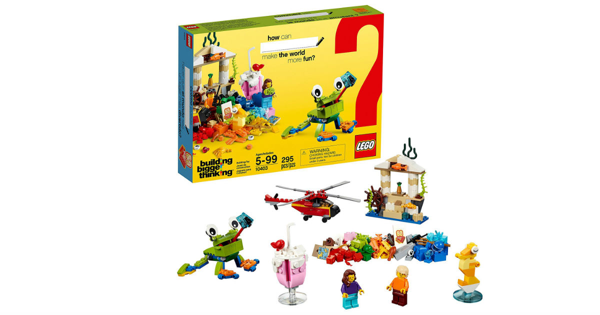 LEGO Classic World Fun ONLY $12.99 on Amazon (Reg. $20)