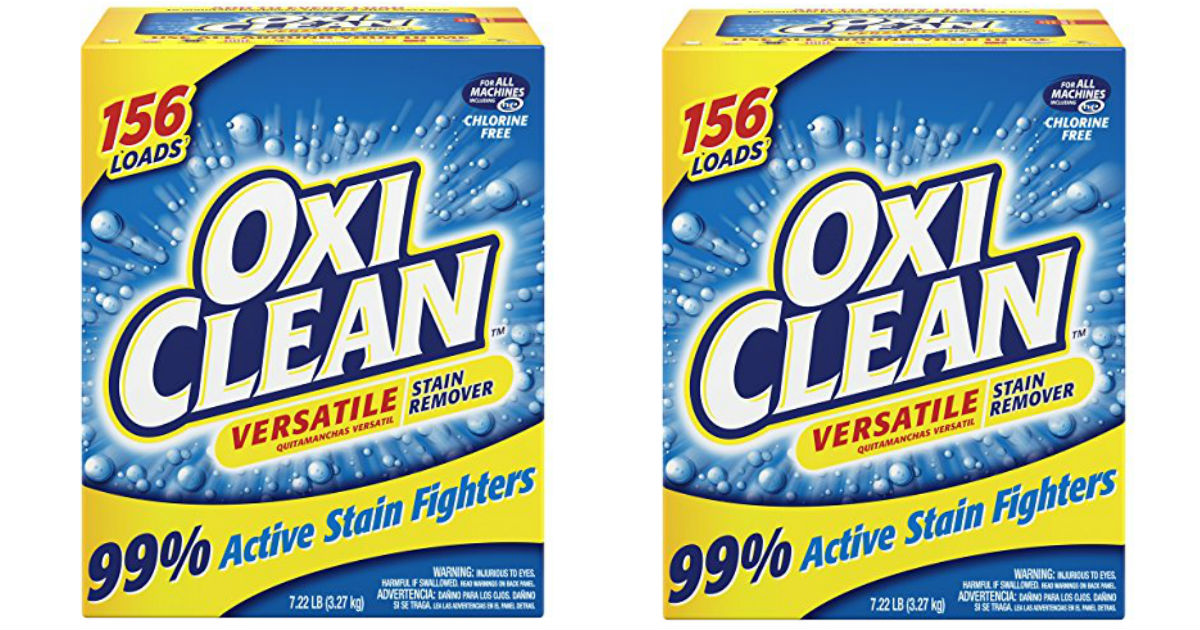 OxiClean Versatile Stain Remover ONLY $8.98 Shipped