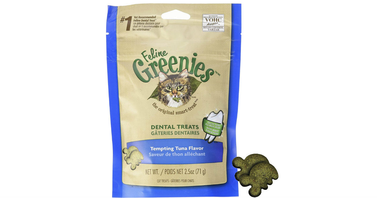 Greenies Dental Treats for Cats ONLY $1.99 Shipped