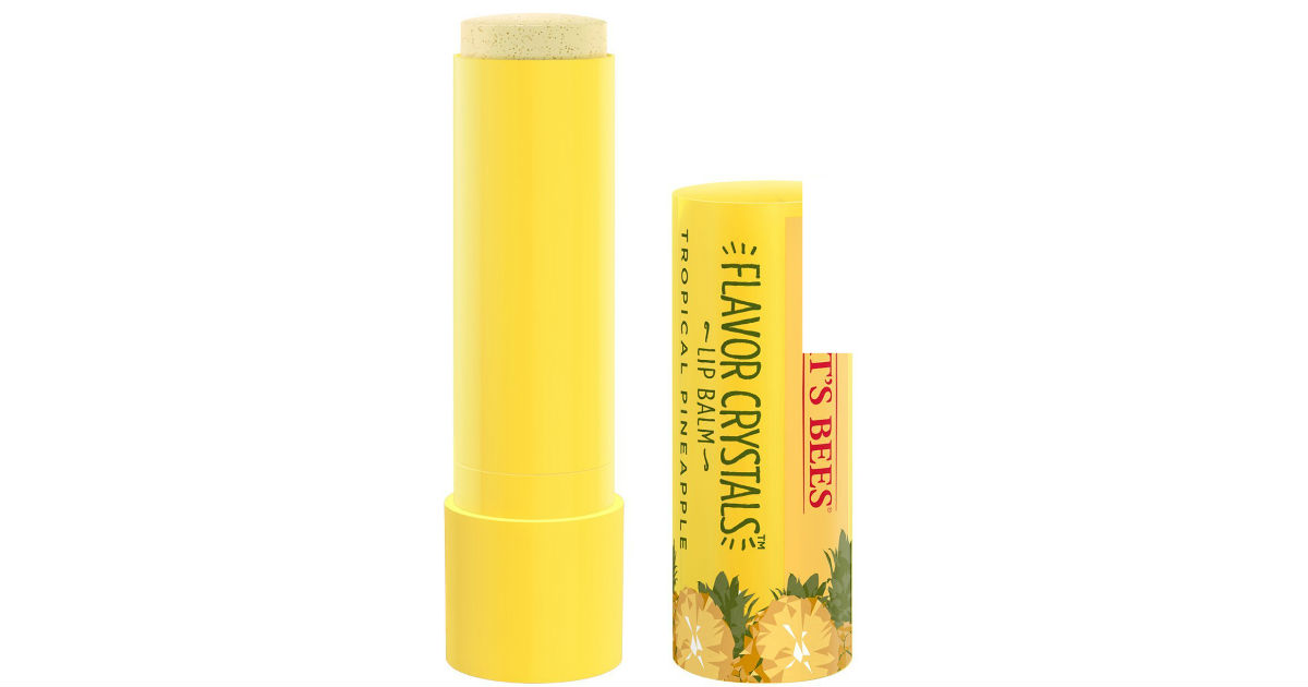Burt's Bees Flavor Crystals Lip Balm ONLY $1.78 Shipped