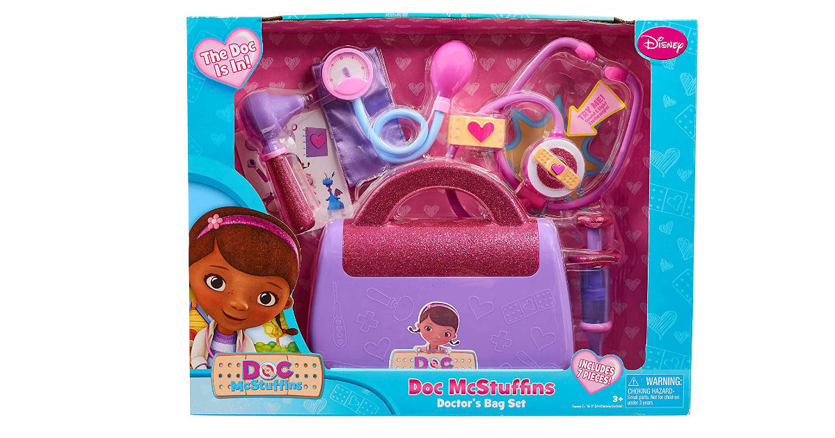 Disney Doc McStuffins Doctor's Bag ONLY $8.87 (Reg. $20)