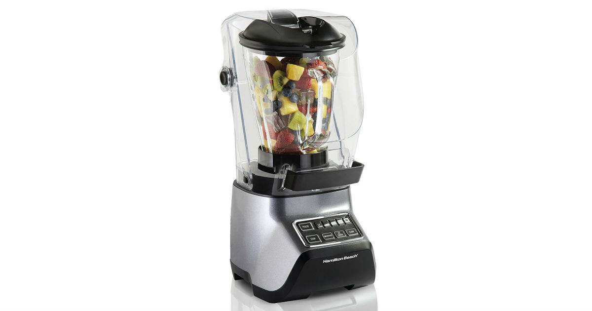 Hamilton Beach SoundShield Blender ONLY $43.85 (Reg. $89)
