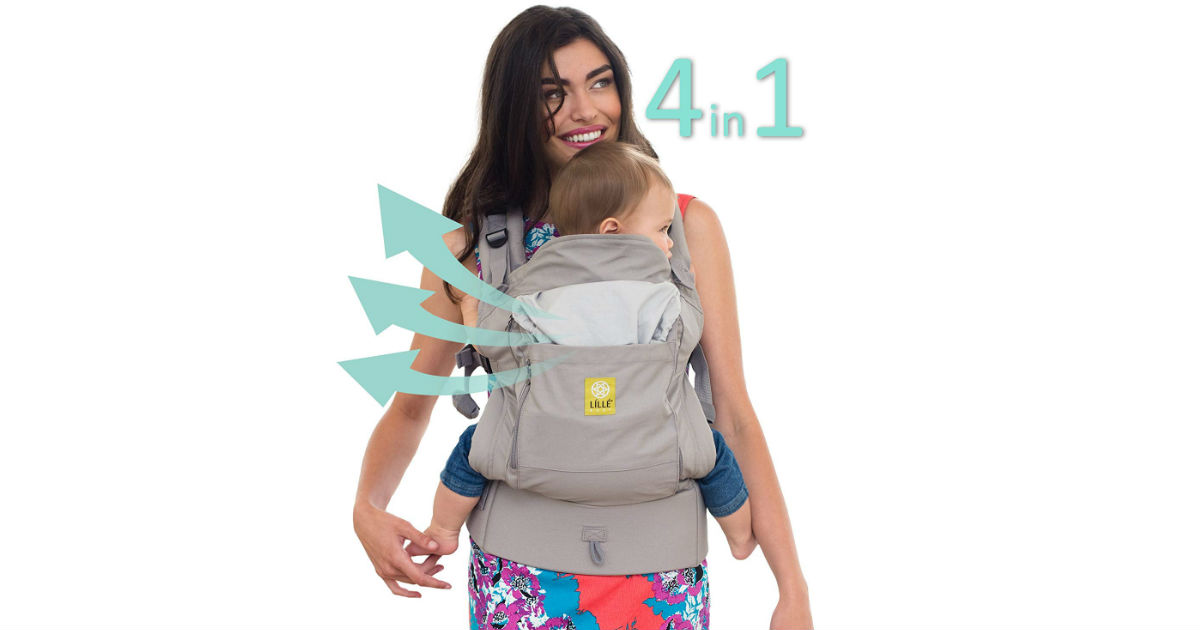 LILLEbaby 4 in 1 Baby Carrier ONLY $40 on Amazon (Reg. $100)