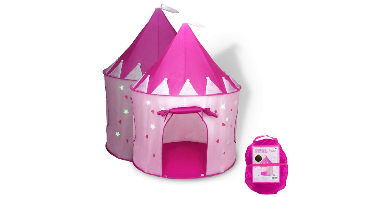 Princess Castle Play Tent ONLY $15.99 Shipped (Reg. $30)