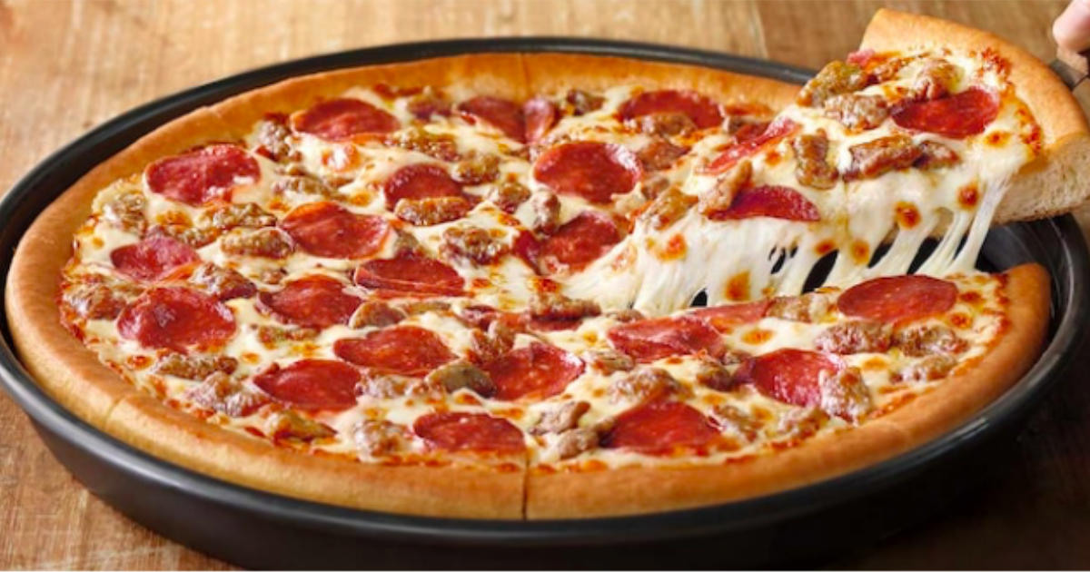 photograph regarding Pizza Hut Printable Application titled 50% Off at Pizza Hut - Printable Discount codes