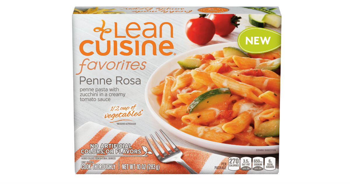 Lean Cuisine Frozen Meals ONLY...