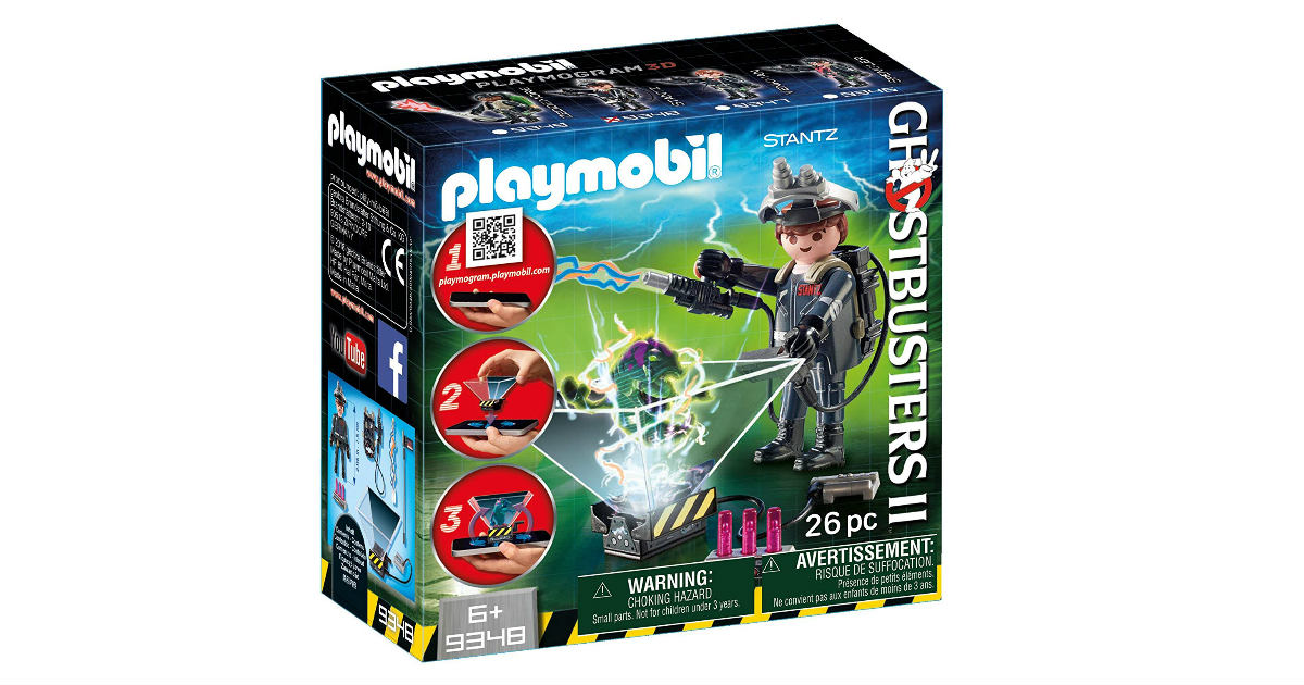 Playmobil Ghostbuster Raymond Stantz Set ONLY $3.35 on Amazon