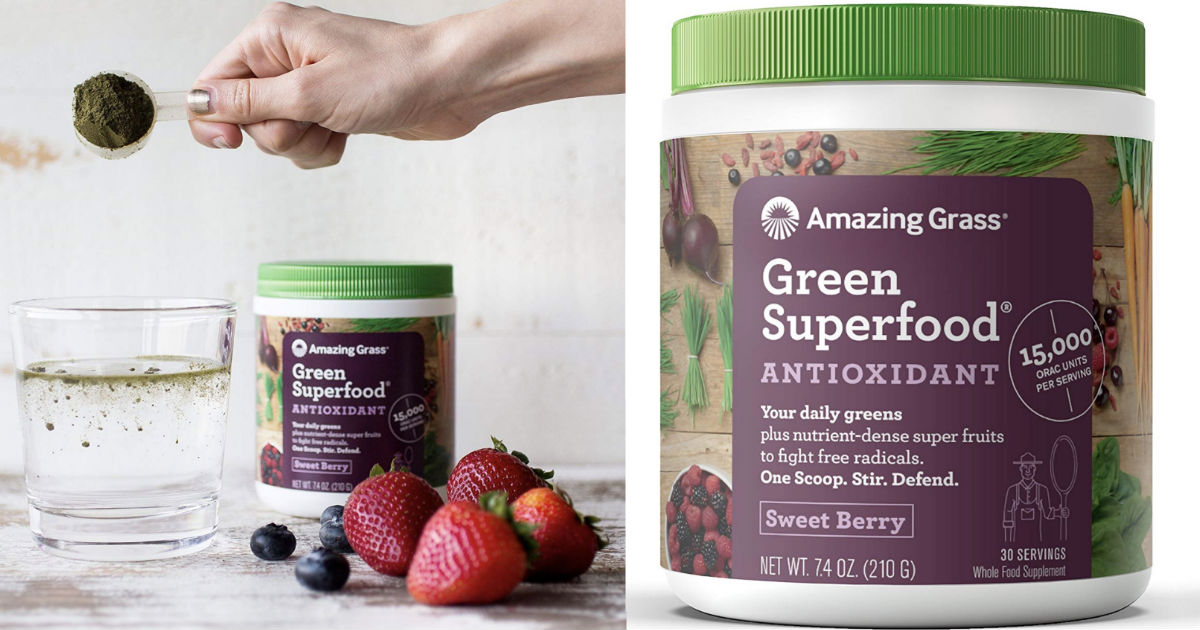 Amazing Grass Green Superfood Antioxidant Only $10.23 Shipped