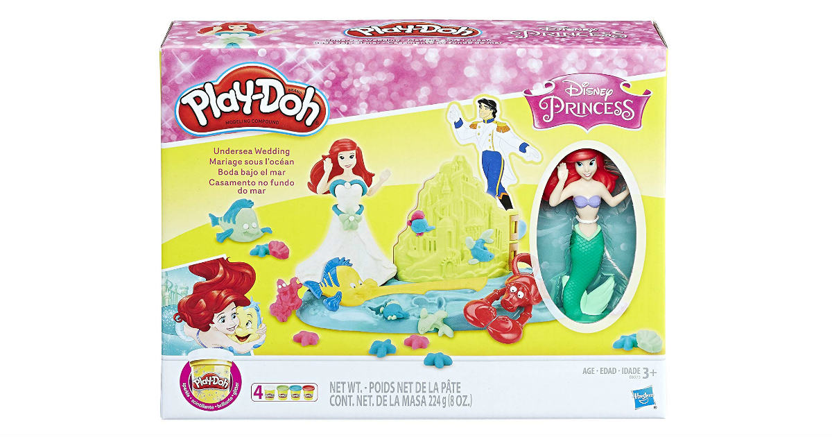 Play-Doh Undersea Wedding with Ariel ONLY $5.77 (Reg. $17)