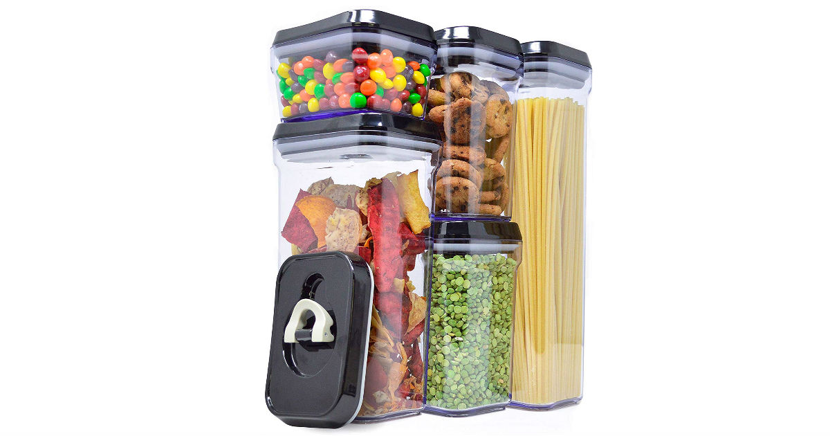 Air-Tight Food Storage Containers ONLY $5.08 Each